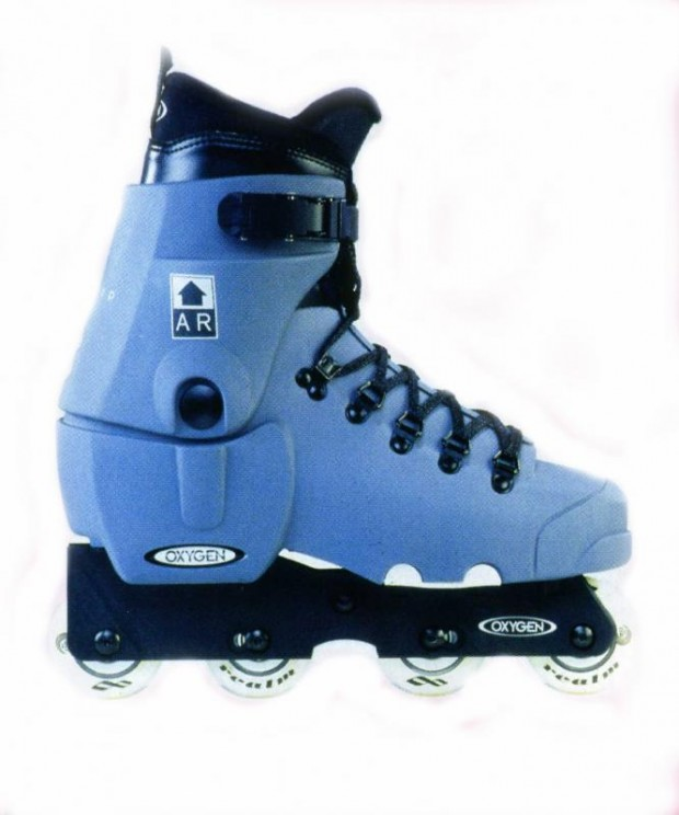 Blue Argon Skate