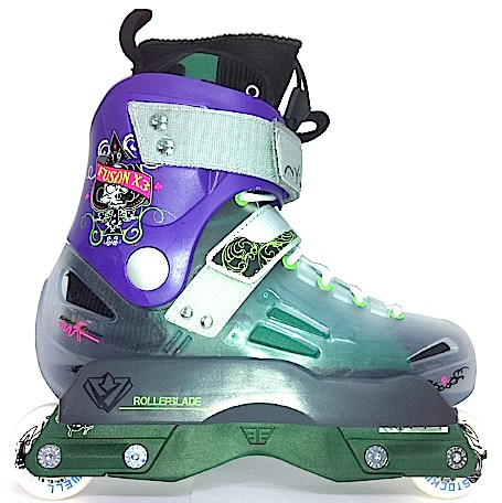 ROLLERBLADE FUSION X3 LE VERDE 2011