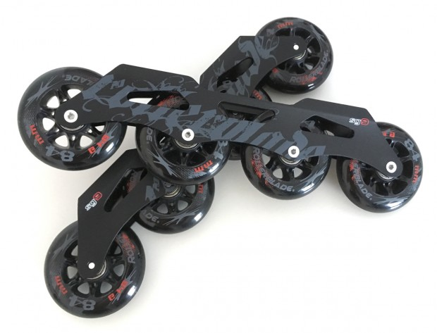 RB Fusion 90 mm Frames and Wheels