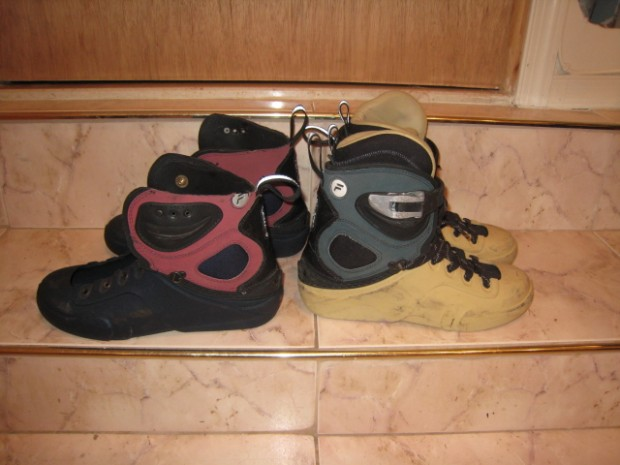 both fila aggressive skates