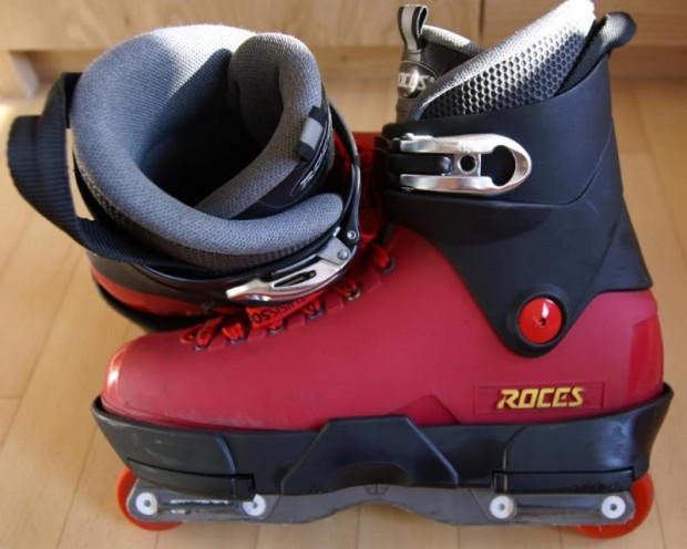 Roces Black Red costum
