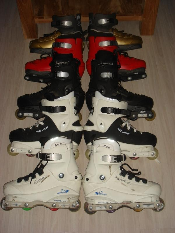 Salomon collection of 5