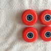 New Undercover Red Wheels with Abec 5 Bearing
